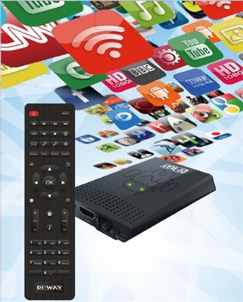 DI-WAY AND-1 Android, Media Player (Smart TV)