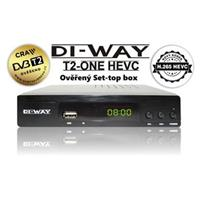 DI-WAY T2-ONE HEVC H.265 DVB-T/T2, Full HD