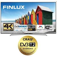 Finlux LED TV TV55FUC8160 - HDR UHD T2 SAT WIFI SKYLINK LIVE